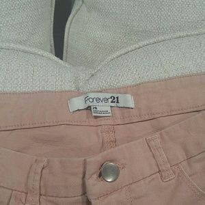 Forever 21 Jeans - Pink blush jeans